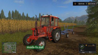 Советский трактор в игре FS 2017