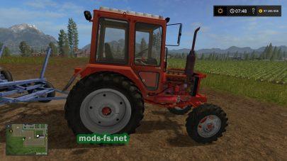 Мод старого трактора mtz-82