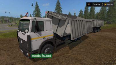 МАЗ-6303 в Farming Simulator 2017