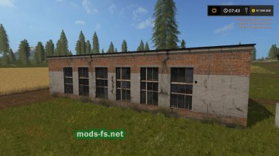 Гараж для Farming Simulator 2017