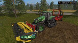 Phibar Triple Cutter для Farming Simulator 2017