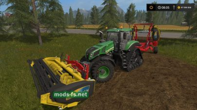 Phibar Triple Cutter для Farming Simulator 2017