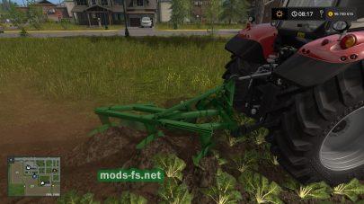трехкорпусный для Farming Simulator 2017