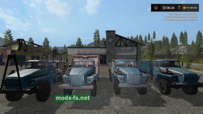 Мод грузовиков Урал
