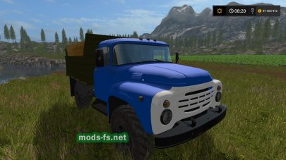 zil-4502 для Farming Simulator 2017