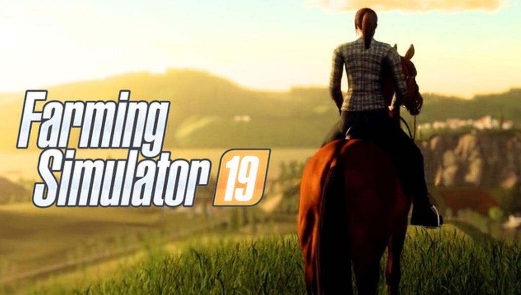 Лошади в игре Farming Simulator 2019