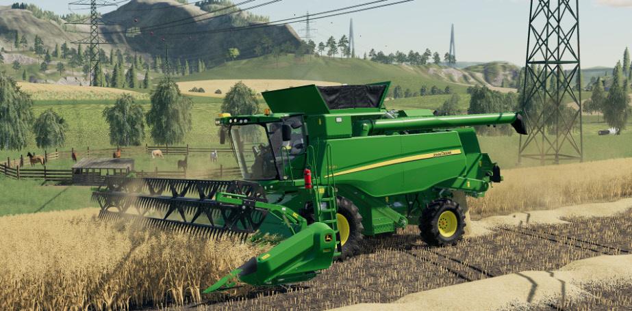 Новая культура Овес в Farming Simulator 2019