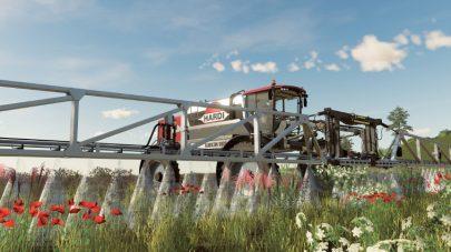 Очистка посевов от сорняков в игре FS 2019