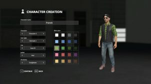 Управление персонажами в FS 19