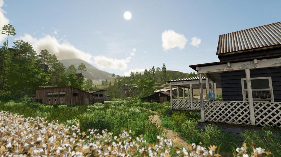 Улучшенная графика в Farming Simulator 2019