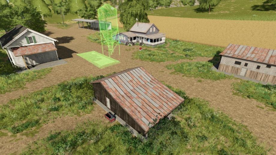 Строительство фермы в Farming Simulator 2019