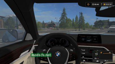 Мод автомобиля BMW 540I