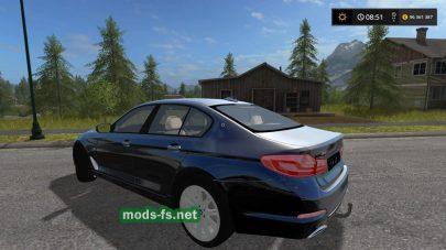 Легковой автомобиль BMW 540I в игре FS 17