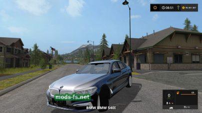 Скриншот мода «BMW 540I XDRIVE G30»