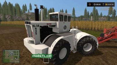 Мод на BIG BUD N14 434 для Farming Simulator 2017