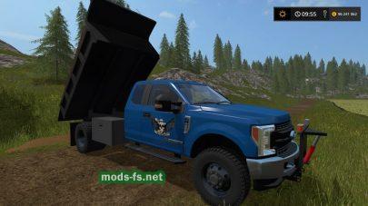 Мод грузовика FORD F550 DUMP