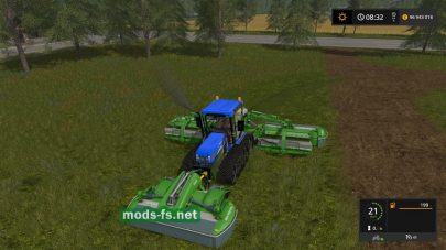 Мод косилки Fendt Mower
