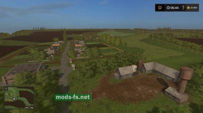 Карта Черкащина для Farming Simulator 2017