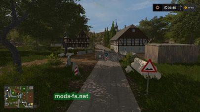 Ремонт дороги в игре FS 17