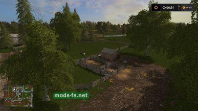 Карта для Farming Simulator 2017 на слабых компьютерах