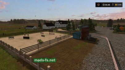 Карта с грязью для Farming Simulator 2017