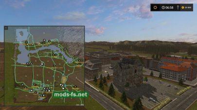 Схема карты «Steinburg»