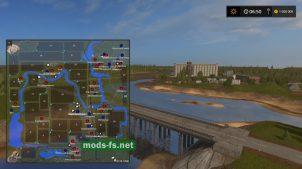 Схема карты «Russia Map» v1.03