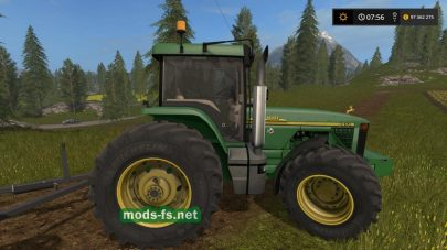 John Deere 8400 для Farming Simulator 2017