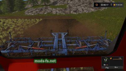 Культиватор KPP-8 в игре FS 17