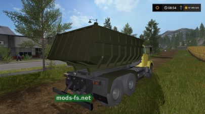 Скриншот мода «kraz-65055»