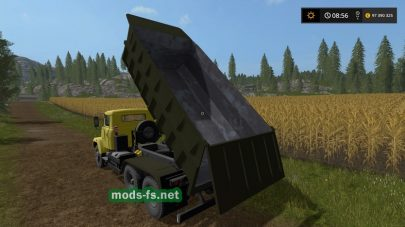 kraz-65055 в Farming Simulator 2017