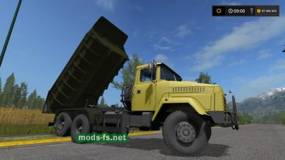 kraz-65055 mod