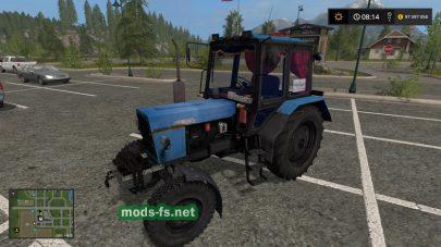 Модификация трактора MTZ-82