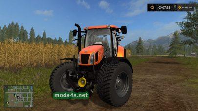 Мод трактора New Holland T6