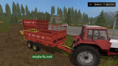 ПИМ-20 И РОУ-6 для Farming Simulator 2017