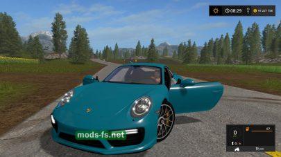 Мод на Porsche 911 Turbo S