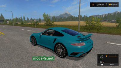 Скриншот мода «Porsche 911 Turbo S Coupe (991) 2016»