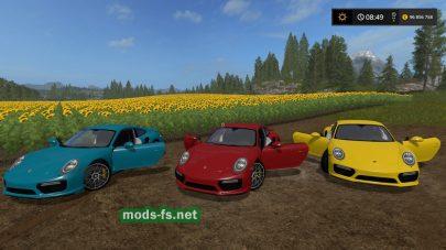 Пак модов на Porsche 911