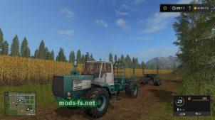 Мод трактора T-150K