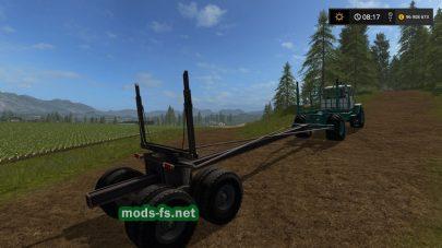 T-150K для перевозки леса в игре FS 17
