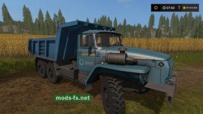 Мод грузовика УРАЛ-4320