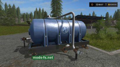 Мод на заправку водой в игре FS 2017