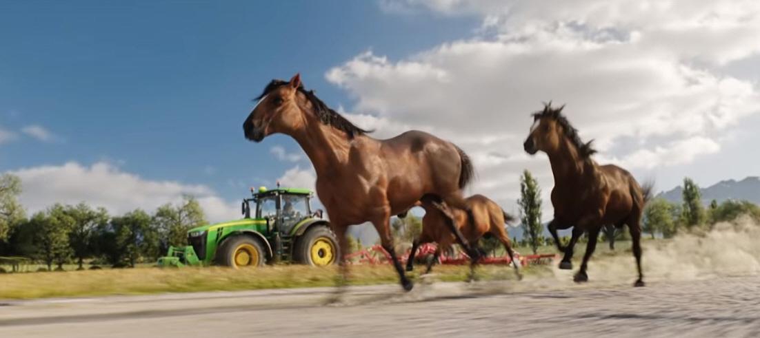 Разведение лошадей в игре FS 19