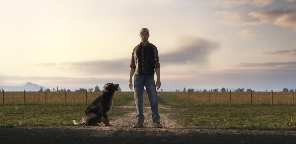 Собака в игре Farming Simulator 19