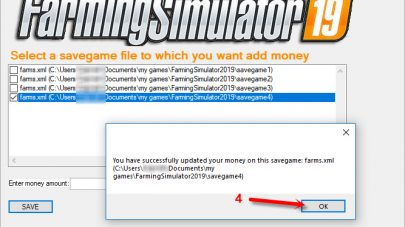 добавление денег в игру