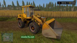 Amcodor 332C4 для Farming Simulator 2017