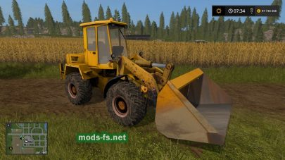 Amcodor 332C4 для Farming Simulator 2017