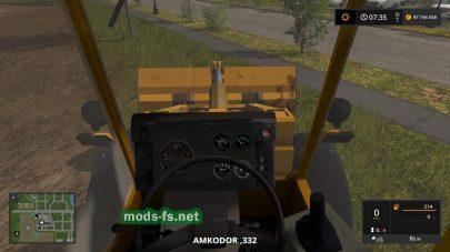 Мод погрузчика Amcodor 332C4