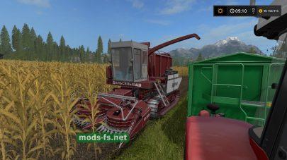Скриншот мода «AMUR 680»