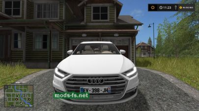 Мод автомобиля AUDI A8